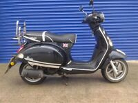 2013 BAOTIAN MONZA 50CC MOPED , SCOOTER LONG MOT PX TO CLEAR