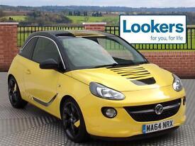 Vauxhall Adam SLAM (yellow) 2014-09-30
