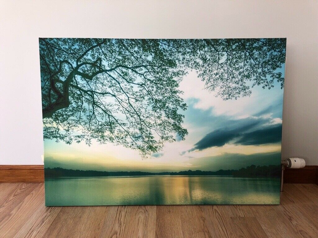 Next Large Canvas Print - Teal / Green | in Ellon, Aberdeenshire | Gumtree