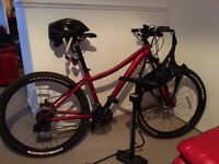 Specialised mountain bike and accessories