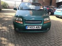 Cheap 1.4L Daewoo Kalos Long MOT for sale £550