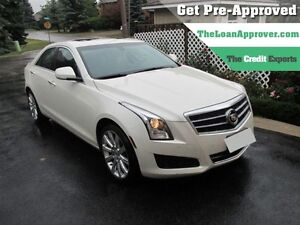 2014 Cadillac ATS 2.0L Turbo Luxury | LEATHER | AWD | ROOF | NAV
