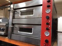 CANMAC PIZZA OVEN - DOUBLE DECK - ELECTRIC SINGLE PHASE