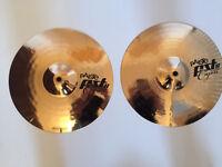 "Paiste PST8 12"" Cajon hi-hat cymbals"