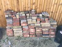 160 reclaimed bricks