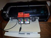 HP Deskjet 9800 Printer + 2 x colour cartridges