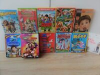 19 DVDS DVD'S KIDS &FAMILY FILMS, MIX OF U (11) & PG - INC:SPY KIDS TRILOGY,REEF,TINTIN,ELF