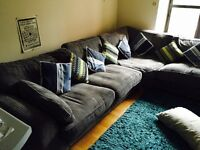 Gorgeous House of Fraser corner sofa, only 5 months old. Retails for almost £2000. Immediate sale.