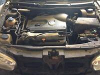 1.8T AGU Engine Conversion MK1 MK2 Caddy Golf MK4 Rolling Shell