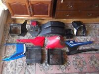 yamaha rd 125 lc, dt, as3, spares, project, classic, joblot,