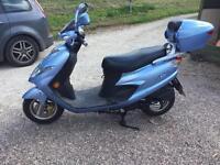 Suzuki an 125 2007 only 4000 miles runs like new