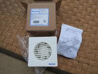 New Unused Vent Axia 100mm Slim Line Fan
