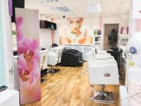 Hairdresser chair and beauty therapist Room available for rent.