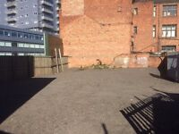 Large outdoor space available City Centre - ideal Car Parking