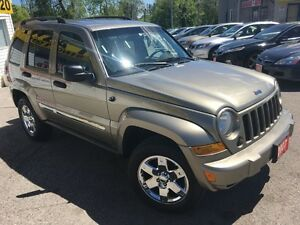 2007 Jeep Liberty Sport/4WD/LOADED/ALLOYS/C.C. PROOF