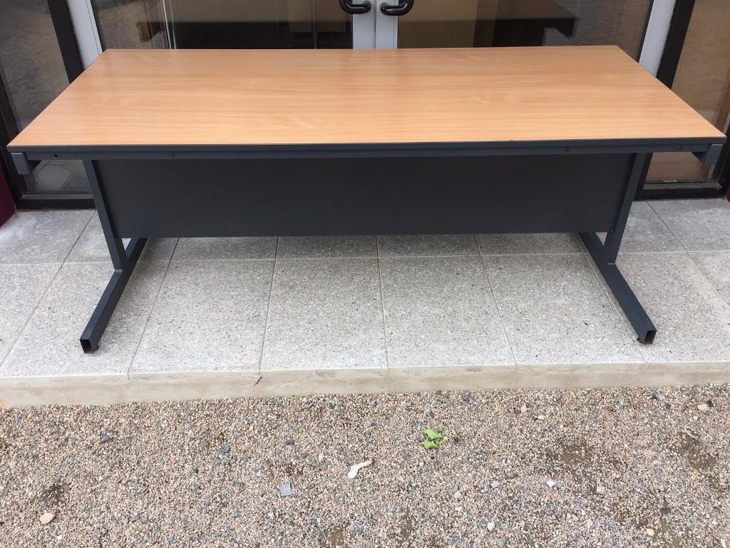 1800 beech boardroom tablein Cookstown, County TyroneGumtree - Large modern beech table which can be sat at from both sides. Suitable for meetings, training, canteen or reception desk. H725 x W1800 x D800In good condition with very light use, ideal for home or office use.Large selection of modern office...