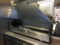 MANGAL BBQ KEBAB GRILL REAL WOOD BLACK COAL BURN CATERING COMMERCIAL KITCHEN SHOP
