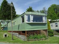STATIC CARAVAN FOR RENT ABERYSTWYTH MID WALES