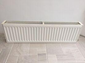 Low level radiator 100x35x10 cm