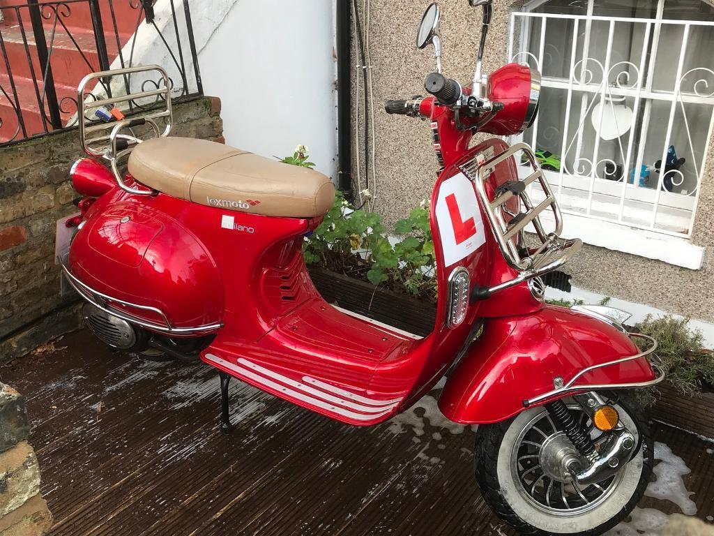 Lexmoto Milano 125cc not Piaggio vespa scooter moped | in Bromley, London |  Gumtree