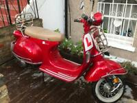 Lexmoto Milano 125cc not Piaggio vespa scooter moped
