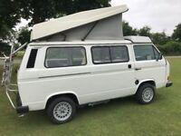VW Transporter T25 camper van, 4 berth, 2.1i watercooled, 5 speed, power steering