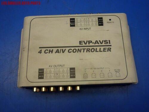 EVP-AVSI 4 CHANNEL CAR  AV INPUT CONTROLLER