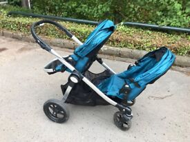 Baby jogger double pram