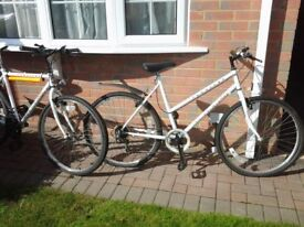 1 x Ladies and 1 x Gent's bicycle For Sale