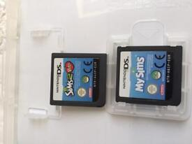 Nintendo dsmy sims in box