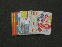 Leicester Speedway Programmes x 88