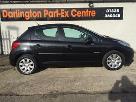 2008/08 PEUGEOT 207/LOW MILES/FULL LEATHER