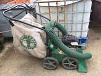 Billy goat yard vacuum