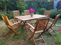 7 Piece Stylish Garden Furniture Set