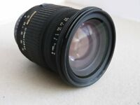 Sigma 17-70mm F2.8-4.5 DC MACRO (PENTAX FIT) For APS-C . Crop Sensor
