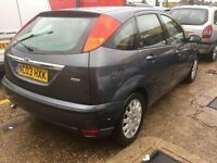 2003 FORD FOCUS GHIA ,1,8 TDCI FULL LEATHER HEATED SEATERS