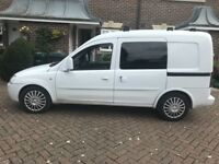 Vauxhall combo crew cab cdti 2005 reliable van currently taxed and insured for test drives