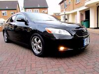 TOYOTA CAMRY 2.4 VVTI MK G AUTOMATIC 4 DOOR SALOON DVD SATNAV 67000KM HPI CLEAR MINT CONDITION