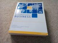 International Business Alan Brown and Dr Stephen Harwood