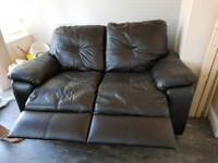 2 seater leather sofat