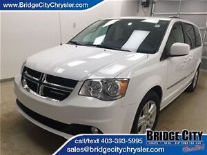 2016 Dodge Grand Caravan Crew- Backup Cam, Heated Seats and Stee