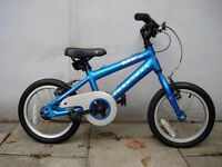 Kids Bike by Ridgeback, Blue, 14 inch Wheels, Great for Kids 4+ years, JUST SERVICED/ CHEAP PRICE!!