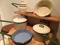 Vintage Judge Ware Kitchen Set