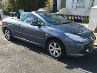 FOR SALE Peugeot 307cc Convertible, 2008, 2L £3,695