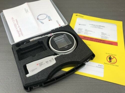 Keysight Agilent N7000A InfiniiMax 8 GHz Oscilloscope Probe Amplifier CALIBRATED