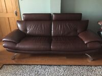 Real Leather 5piece Suite