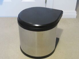 Stainless Steel Kitchen Cupboard Bin