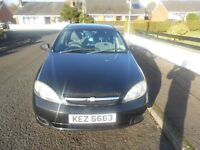 CHEVROLET LACETTI SE This car is in excellent condition and comes with a full years MOT.