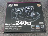 Nepton 240m Coolermaster all in one CPU kit