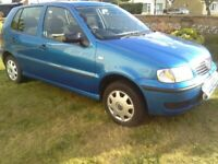 Volkswagen, POLO, Hatchback, 2001, Manual, 1390 (cc), 5 doors no mot